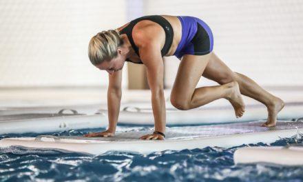 Intervall edzés egy vízen lebegő deszkán? – Be mered vállalni?