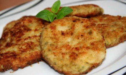 Rántott sajt – liszt, zsemlemorzsa, és olaj nélkül!