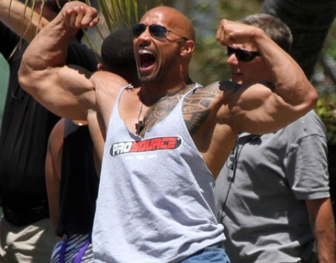 "Dwayne ""The Rock"" Johnson edzésterv – 4. nap: has és kar"