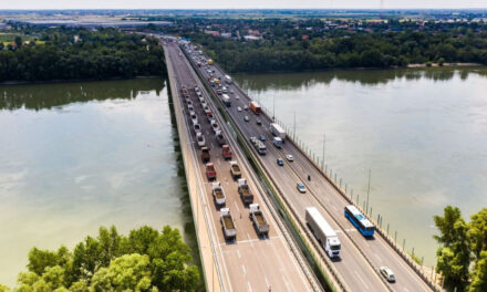 Ismét forgalomkorlátozással járó vizsgálatokat végeznek vasárnap az M0 Duna-hídján