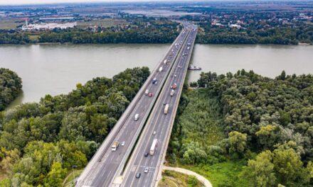 Forgalomkorlátozással járó vizsgálatokat végeznek vasárnap az M0 Duna-hídján