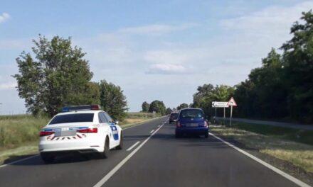 Büntetőfékezés nullára, záróvonal átlépés: mindezt az autópályán mutatta be az audis