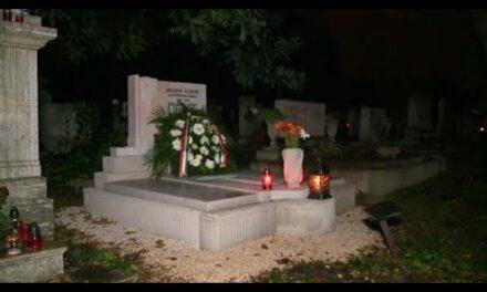 Újraszentelték a tétényi Szelman Ignác sírját