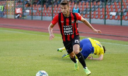 Szabó Máté a válogatottban is sportszerűen viselkedett
