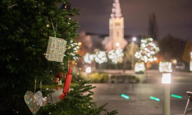 Karácsonyi hangulat Budafok-Tétényben