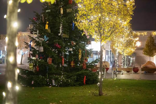 Karácsonyi fények Budafok-Tétényben