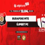 Péntek esti foci: BMTE-Újpest