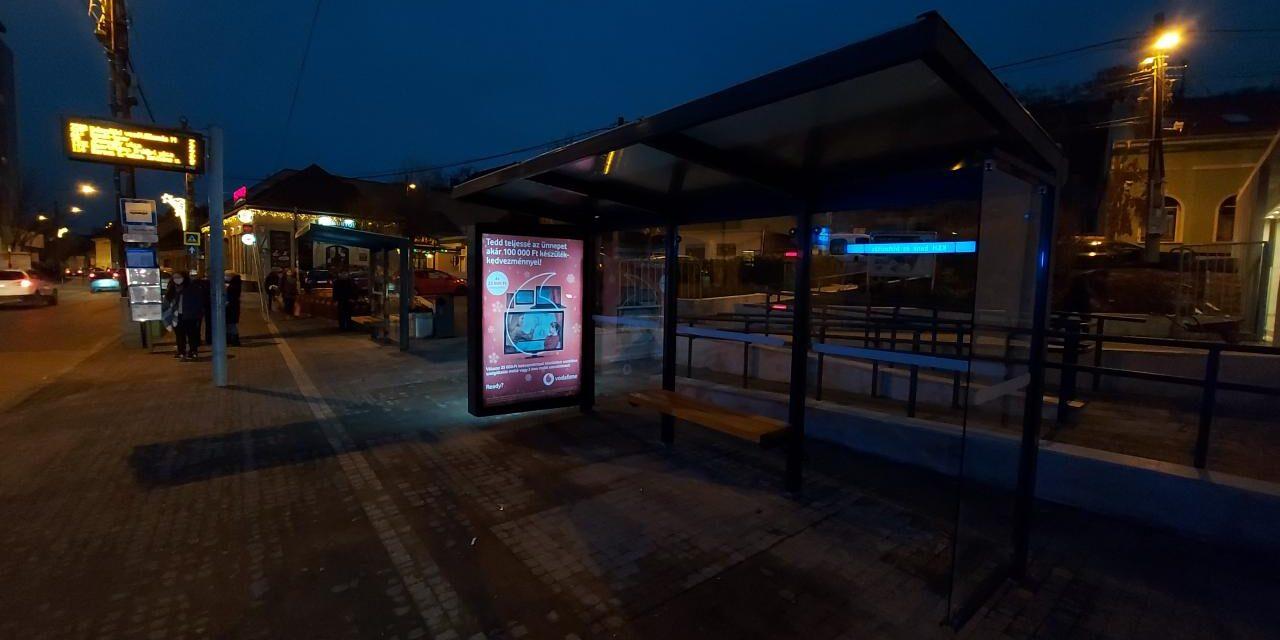 Folyamatos a buszvárók korszerűsítése