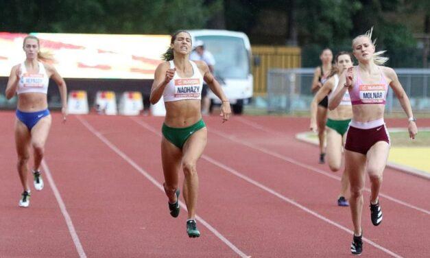 Európa-bajnok a BMTE fiatal női atlétája